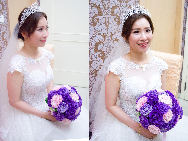 婚宴新秘│甜美夢幻的新娘造型
