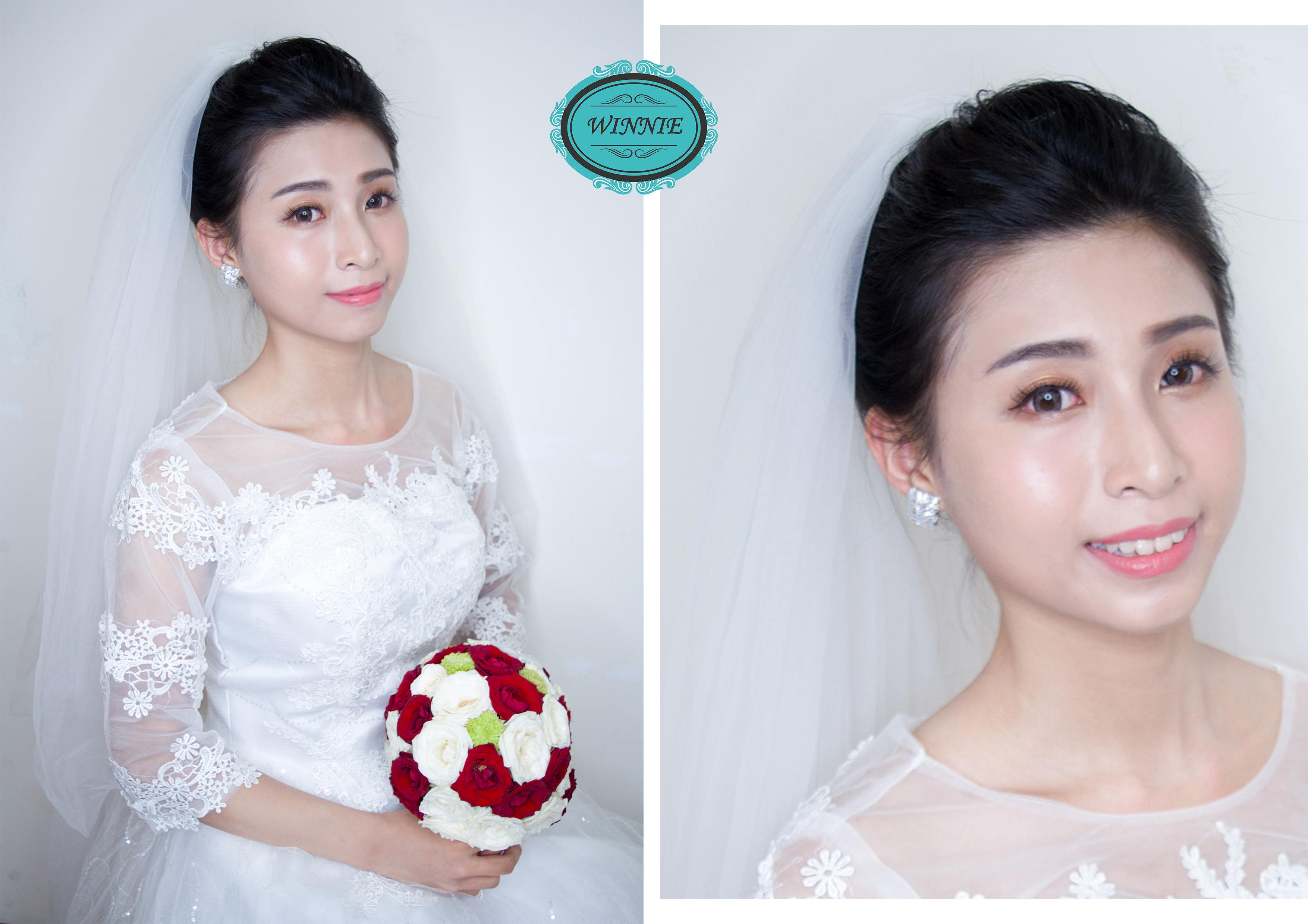 新娘韓系妝容