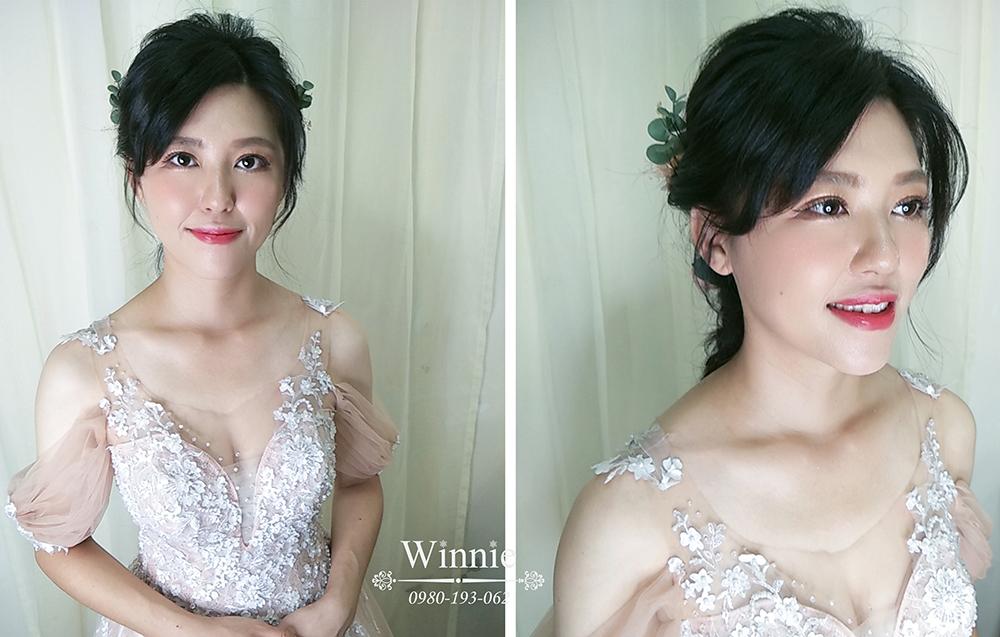 文定好印象質感新娘妝容