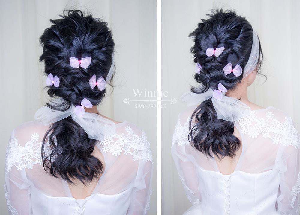 浪漫編髮、蓬鬆自然、髮片銜接、修飾臉型、增多髮量