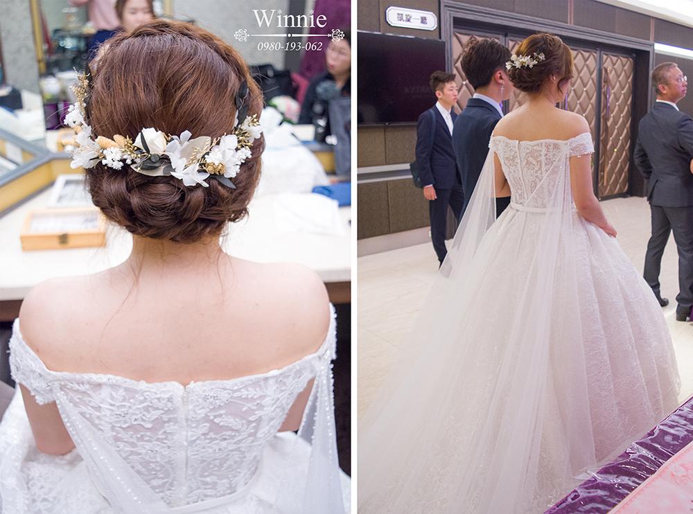 浪漫又氣質的白紗造型
